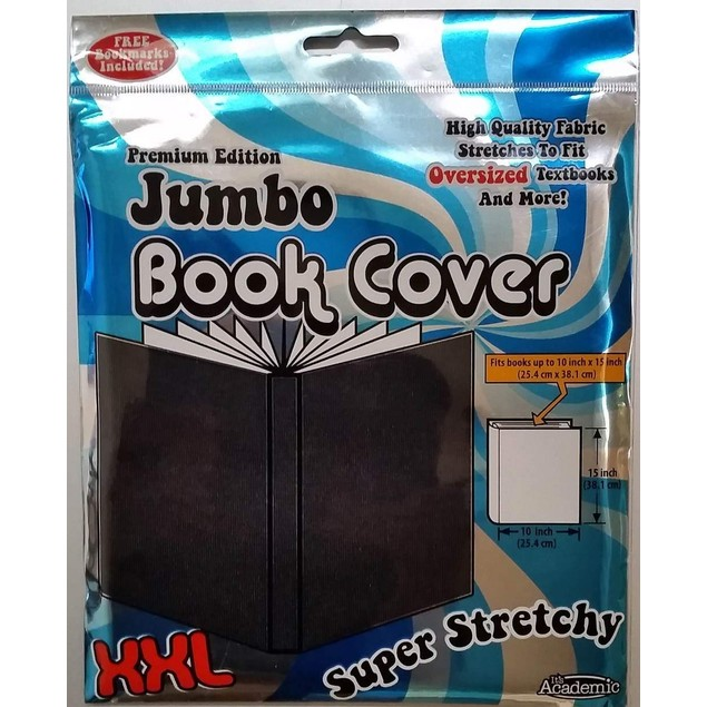 Academic Premium Edition Super Stretch Book: Black - Fits 10 X 15