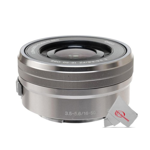 Sony 16-50mm f/3.5-5.6 OSS Alpha E-mount Retractable Zoom Lens Silver