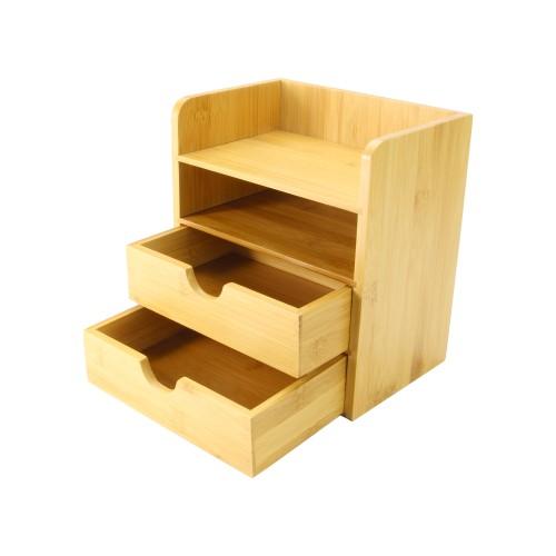 4-Tier Bamboo Desktop Organiser | MandW