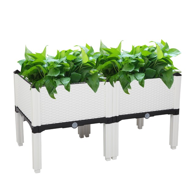 2 Pack Free Splicing Injection Planting Box  - 2 Colors