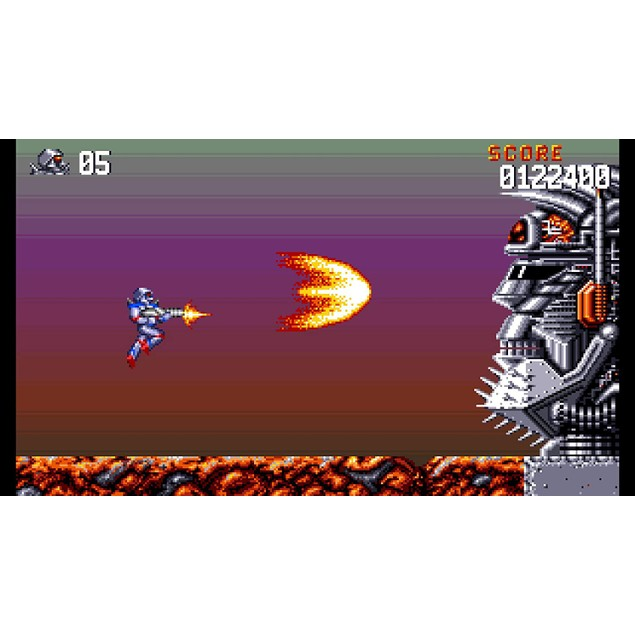 Turrican Flashback PS4 Game