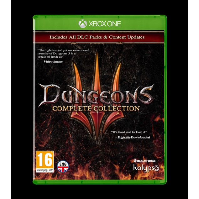 Dungeons 3 Complete Collection Xbox One Game