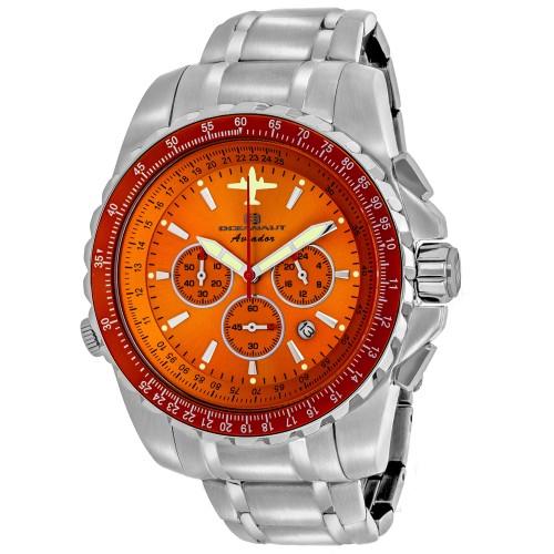 Oceanaut Men's Aviador Pilot Orange Dial Watch - OC0115