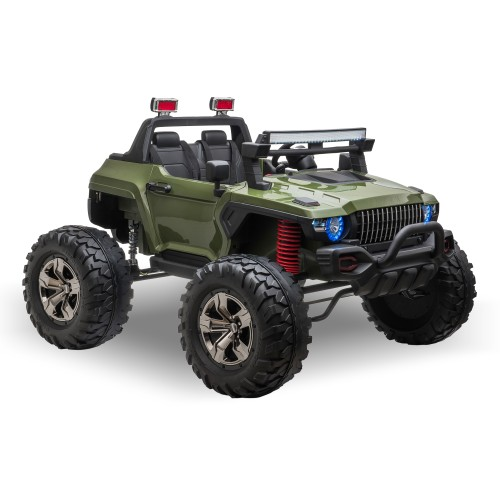 Kids Riding Vehicle Parental Remote Control with High or Low Speed, Green