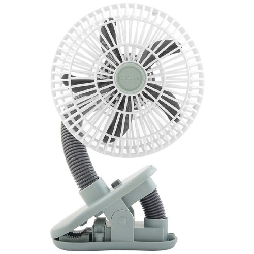 O2Cool 4 Inches Portable Battery Powered Stroller Indoor/Outdoor Clip Fan