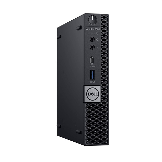 Dell Optiplex 5060 16GB 256GB SSD Win10, Black (Refurbished)