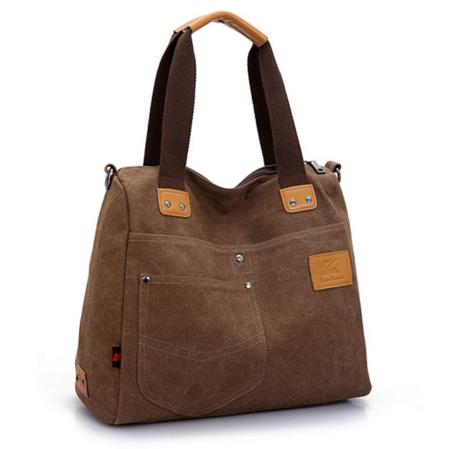 Shoulder Messenger Large Capacity Portable Canvas Bag