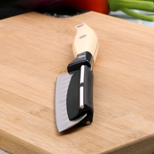Fast Precise Knife Sharpening Guide Clip for Whetstone Kitchen Tool