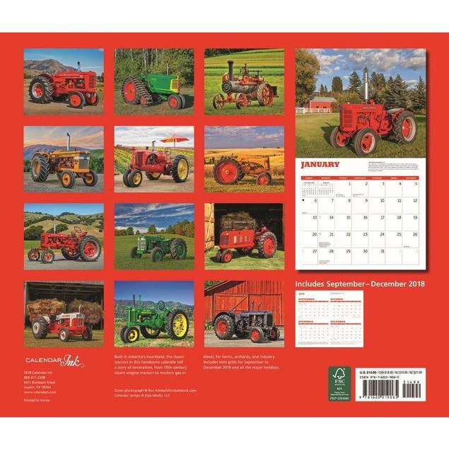 Tractors Deluxe Wall Calendar, Tractors by Calendars