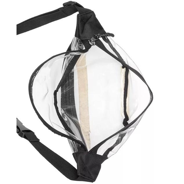 Bespoke Men's Clear Waist Pack white Size Regular