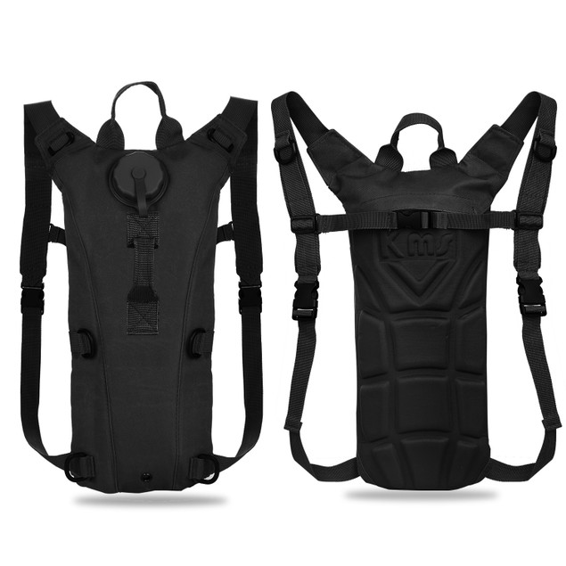 Tactical Hydration Pack 3L Water Bladder Adjustable Water Drink Backpack
