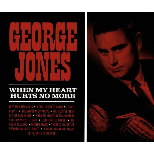 George Jones ‎– When My Heart Hurts No More Vinyl