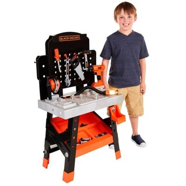 BLACK+DECKER Ready-to-Build Workshop for Kids