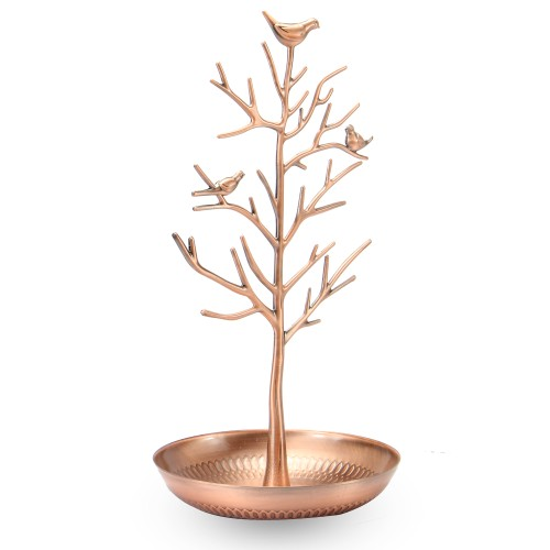 Tree Jewellery Display Stands | MandW Rose Gold