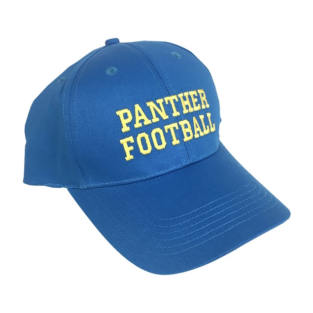 Panther Football Baseball Cap