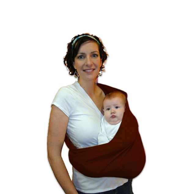 HugaMonkey Cotton Baby Sling Wrap Carrier for Babies upto 3 Years - Stone