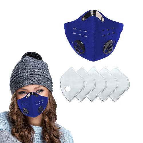 Reusable Dust Proof Mask With 5 Filters