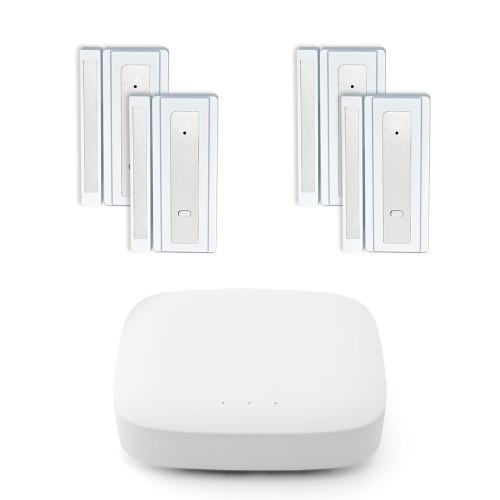 MiLocks YoSmart Hub with 4 Window/Door Sensors