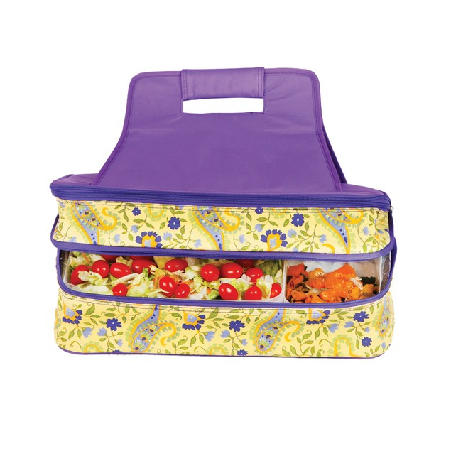Picnic Plus Entertainer Hot & Cold Food Carrier Buttercup