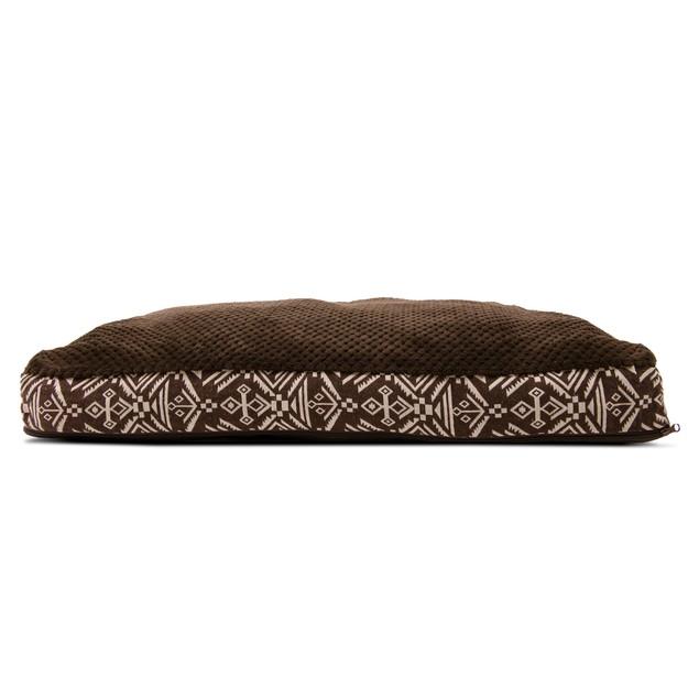 FurHaven Plush Top Kilim Deluxe Pillow Pet Bed