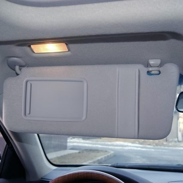 Auto Sun Visor Left Driver Side Car Sun Visor Fits 2007-2011 Toyota Camry