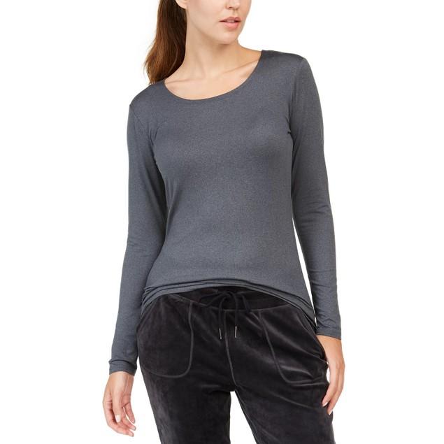 32 Degrees Women's Cozy Heat Underwear Top Black Size XX-Large