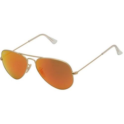Ray-Ban Aviator Large Metal Gold Unisex Sunglasses RB3025-112/69-58