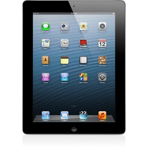 Apple iPad 4th Gen, Retina Display, Wi-Fi, 16GB, Black (MD510LL/A)