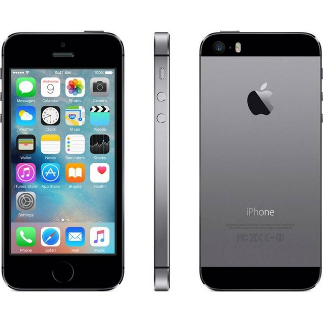 Apple iPhone 5s, Sprint, Gray, 16 GB, 4.0 in Screen