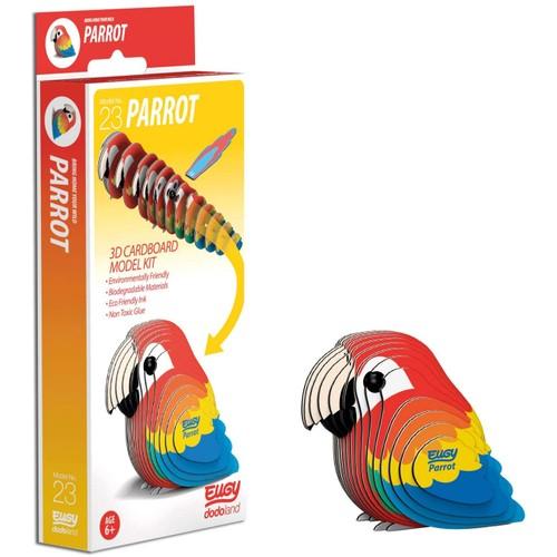 EUGY Parrot 3D Craft Kit