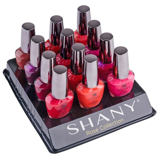 SHANY Nail Polish Set - Semi glossy and Shimmery
