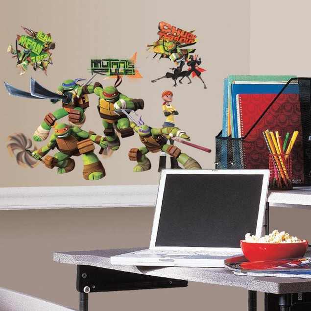 Roommates Baby Room Wall Decor Teenage Mutant Ninja Turtles Wall Decals