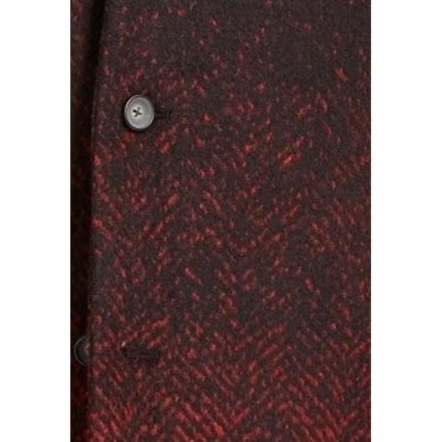 Alfani Men's Ombre Herringbone Jacket  Black Size Small