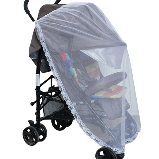 Universal Lace Safe Baby Carriage Insect Mosquito Baby Stroller Bed Net