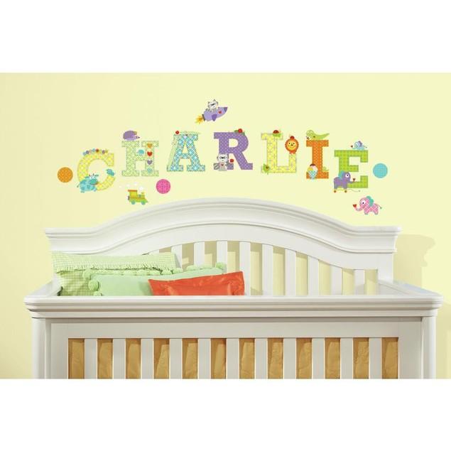 Roommates Nursery Baby Room Wall Decor Happi Animal Alphabet Wall Decals