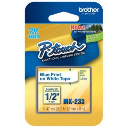 Brothers BRTMK233 - Brother M Series Tape Cartridge for P-Touch Labelers