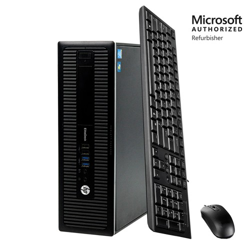 HP ProDesk 600 G1 Computer  (Intel Core i3 3.6GHz, 8GB RAM, 500GB HDD)