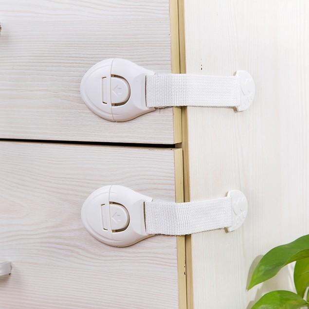 5 Pcs Children's Drawer Cabinet Door Lock Multifunctional