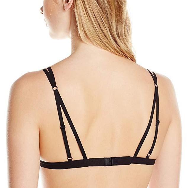 Cosabella Women's Montmartre Naughty Soft Bra, Black, Small