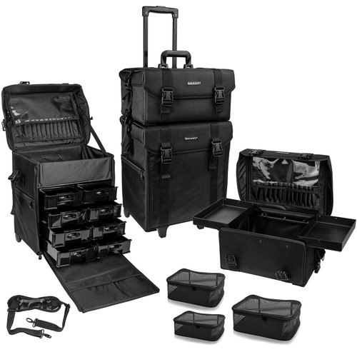 SHANY Makeup Soft Trolley Case