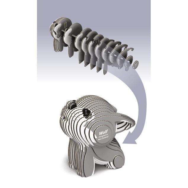 EUGY Wolf - 3D Craft Kit
