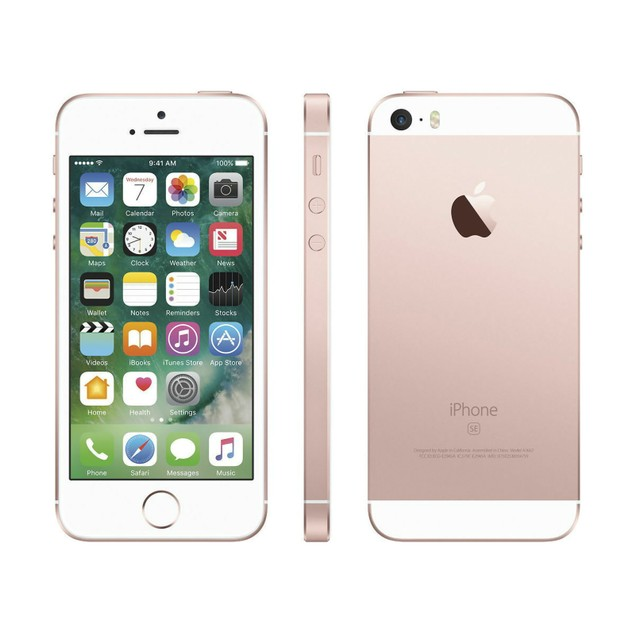 Apple iPhone SE 16GB Verizon GSM Unlocked T-Mobile AT&T 4G LTE Rose Gold - MLY62LL/A