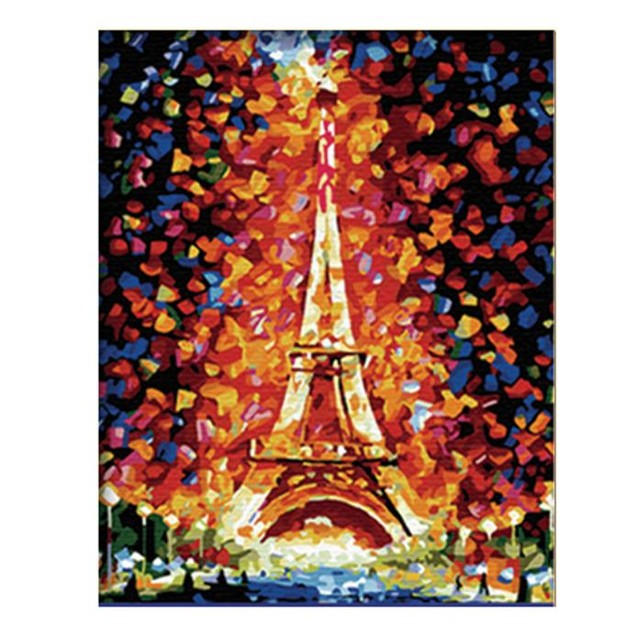 DIY Canvas Oil Painting Wall Art Decor Hand-painted (No Frame)