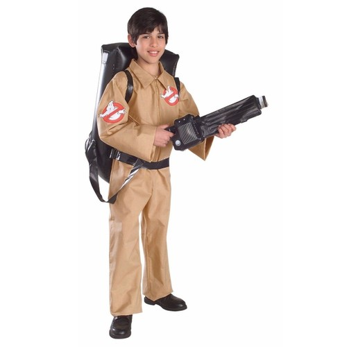 Kids Ghostbusters Costume With Inflatable Backpack