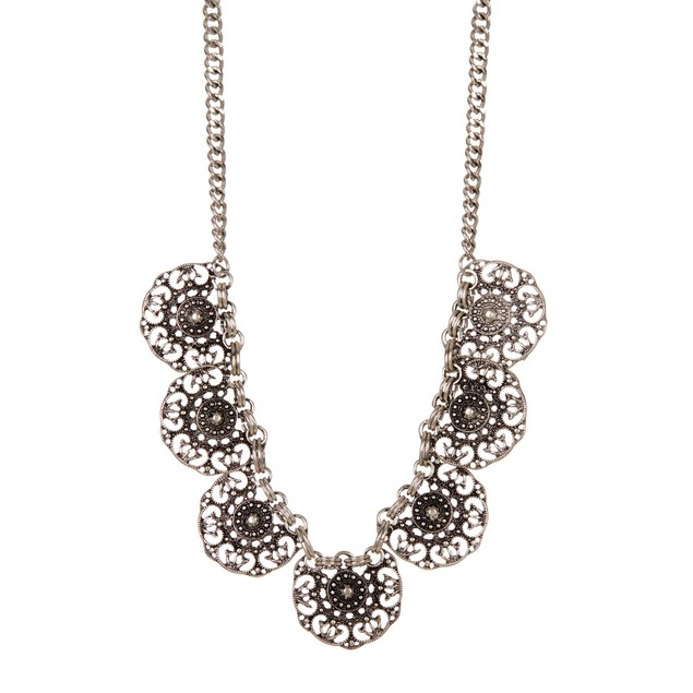 Filigree Medallion Necklace