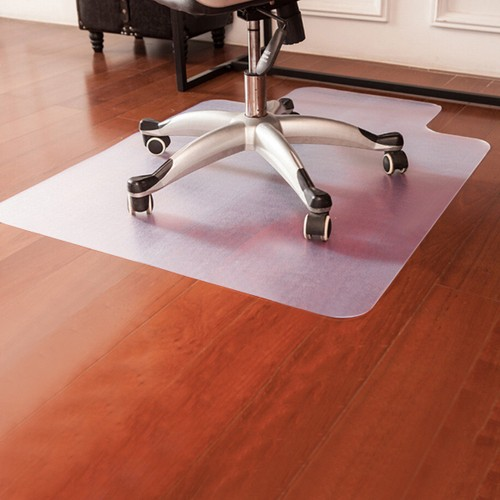 Costway 48'' x 36'' PVC Home Office Chair Floor Mat For Wood/Tile 1.50mm Th