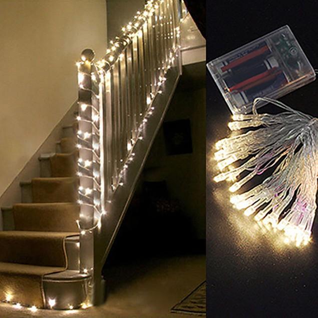 LED Battery Power Christmas String Fairy Tree Decor Light