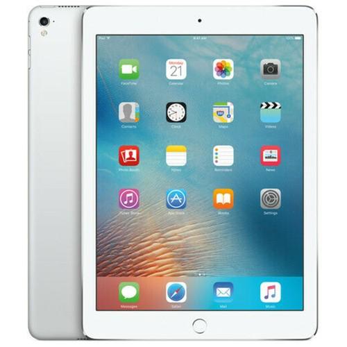 """Apple iPad Pro (1st Gen) 32GB Wi-Fi Cellular Unlocked 9.7"""" Silver (2016) - MLPX2LL/A"""