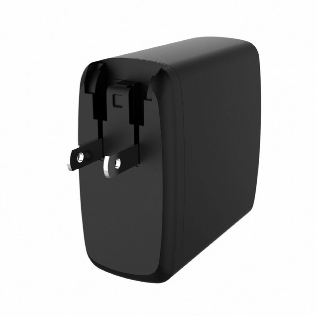 Dual USB 60W Travel Quick Wall Charger (USB-A & USB Type-C)