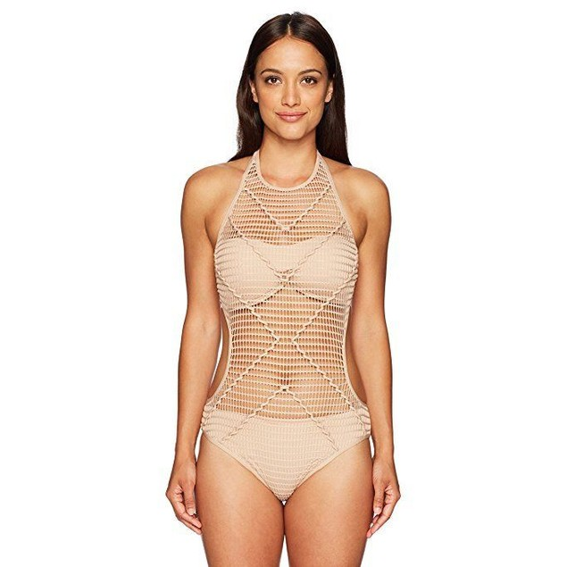 Kenneth Cole New York Women's Wrapped In Love Monokini One Piece sz M